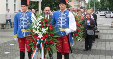 Polaganjem vijenaca obilježili Dan državnosti