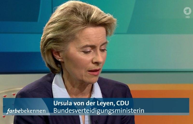 Ursula von der Leyen ist