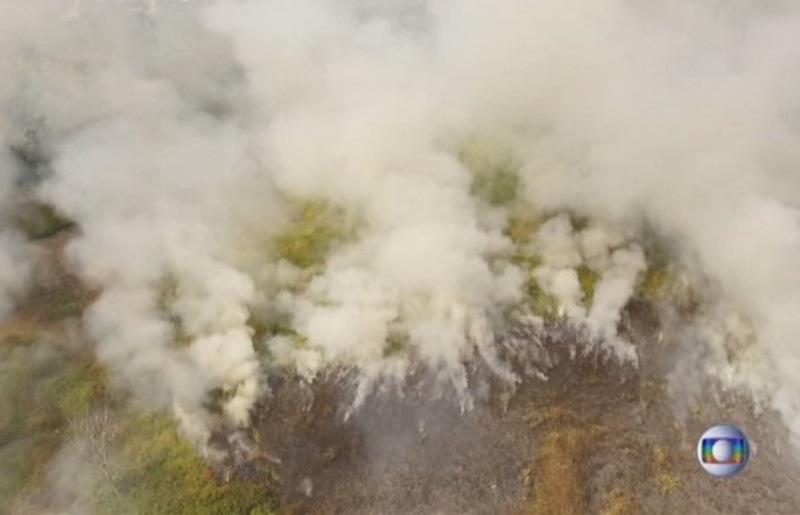Amazonija požari ist