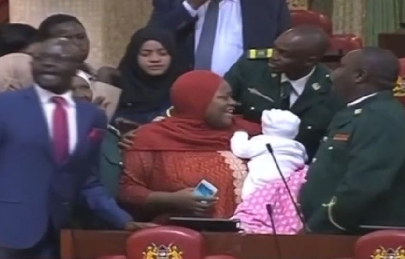 beba u parlamentu ist