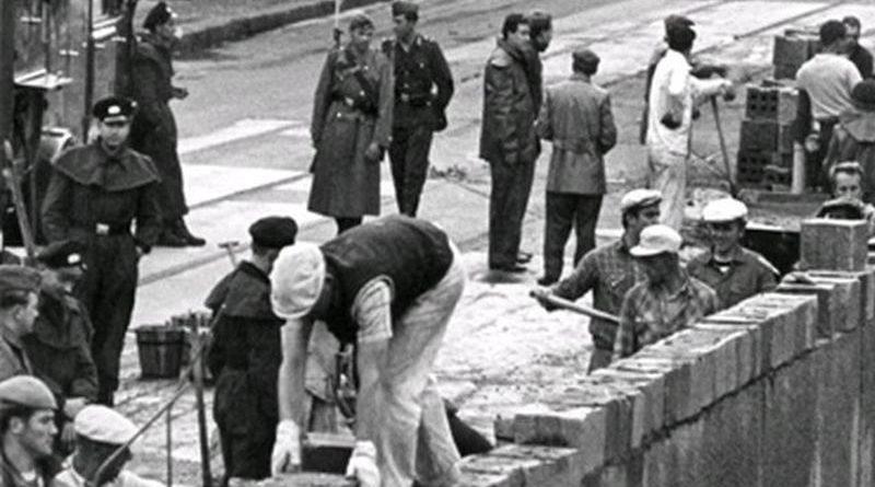 gradnja berlinskog zida ist