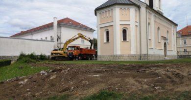 radovi dom zdravlja - crkva ist