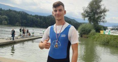 Brončana medalja našeg veslača Davora Poljančića