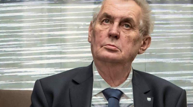 Miloš Zeman ist