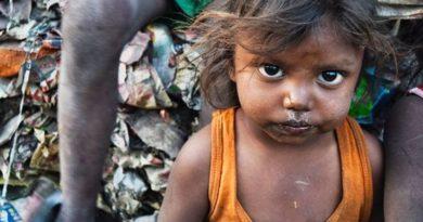 Siromašni, gladni dijete