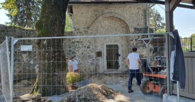 Arheološka istraživanja oko kapelice Sv. Bernardina