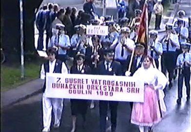 7. susret vatrogasnih puhačkih orkestara Hrvatske – Ogulin 1989.