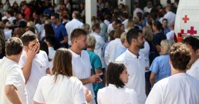 prosvjed medicinskih djelatnika ist