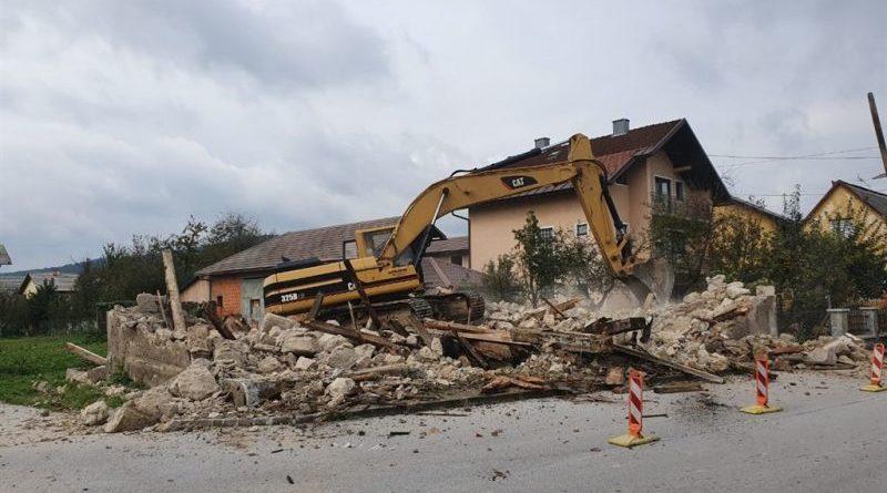 srušena ruševina ist