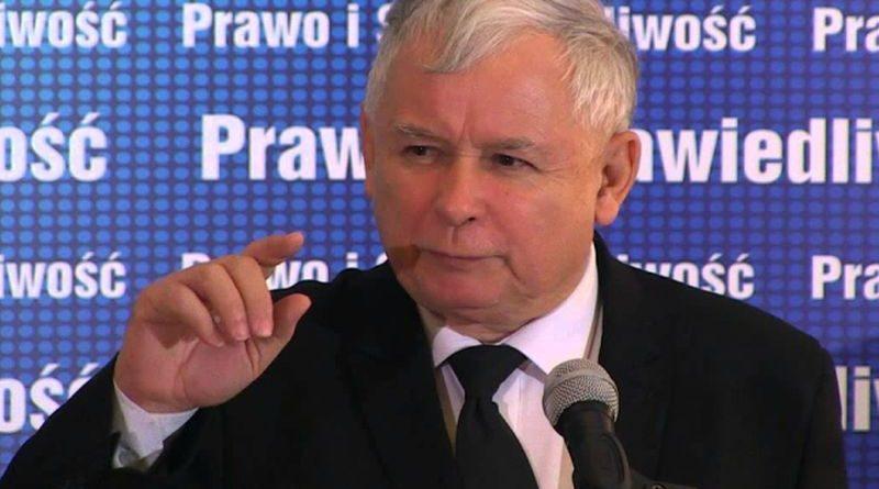 Jaroslaw Kaczynski ist
