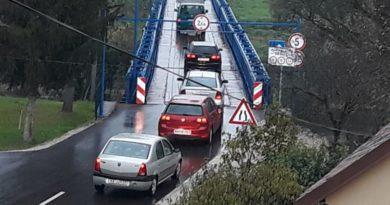 Most gužva