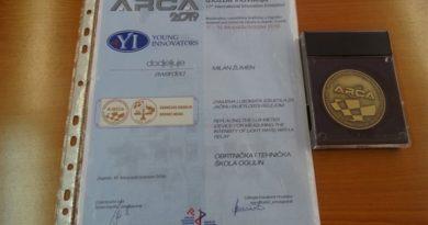 medalja au obrtničko tehničku školu ist