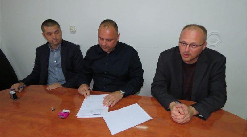 potpis ugovora vodovod ist