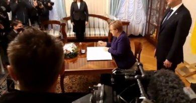 Merkel u Zagrebu ist