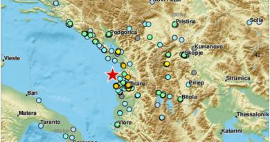 potres albanija ist