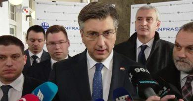 Plenković u Karlovcu prosinac 2019.