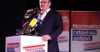 Zoran Milanović ist