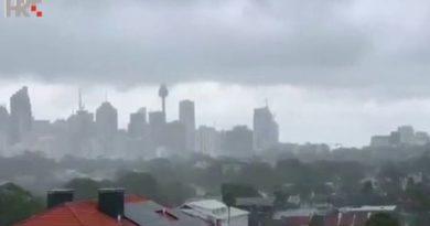 australija kiša ist