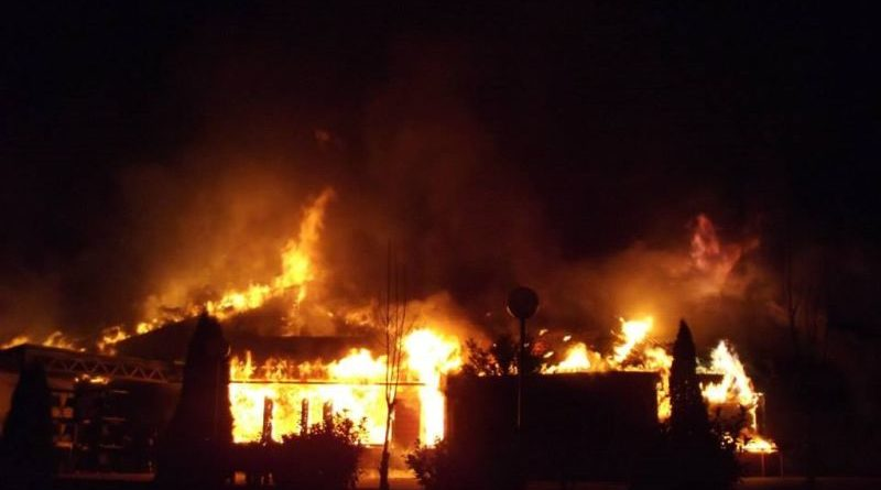 požar restoran sabljaci ist
