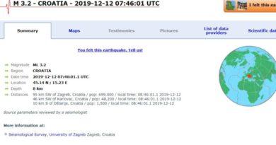 Jutros se lagani potres osjetio i u Ogulinu