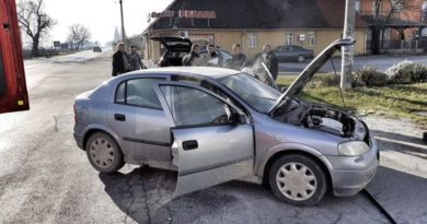 vatrogasci-draganic zapalio auto ist