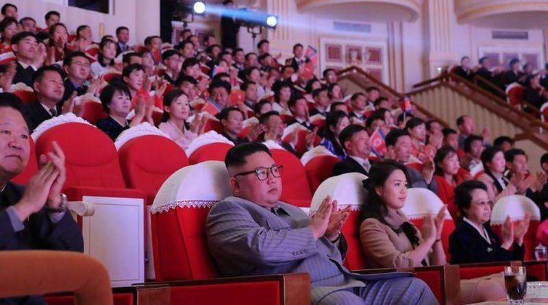 Kim Jong proslava