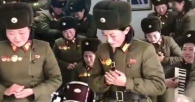 Vojnikinje Sjeverna Koreja ist