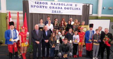 Izbor najboljih u sportu Grada Ogulina za 2020.