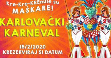 karlovači karneval 2020 plakat