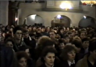 Ogulin nekad – Polnoćka u Ogulinu 1989. godine
