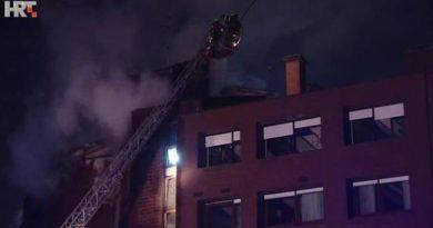 požar na zgradi zagreb ist