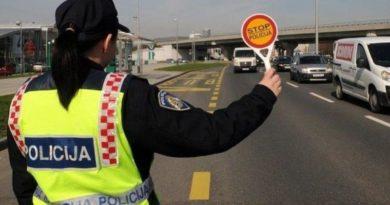 Vozač jučer uhvaćen u Tounju, danas kažnjen zatvorom i zabranom upravljanja vozilom