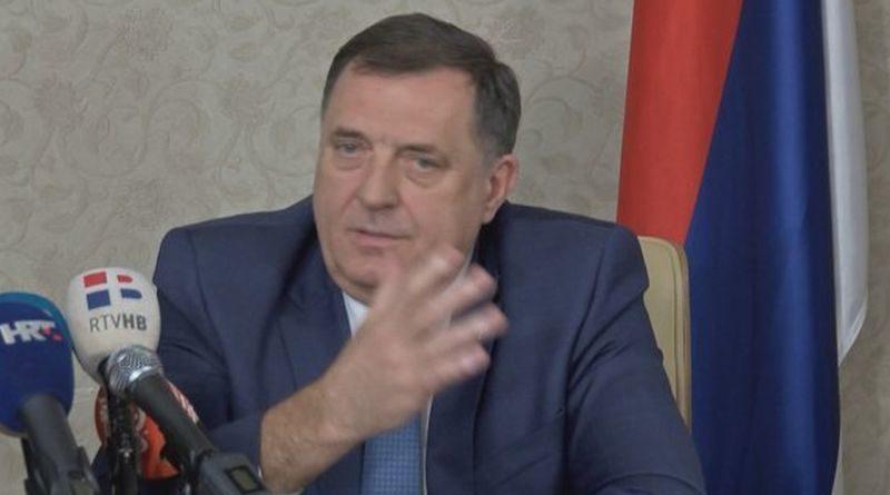 Miloradf Dodik ist