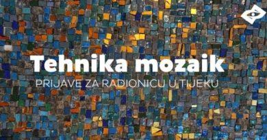 Besplatna radionica – tehnika mozaik