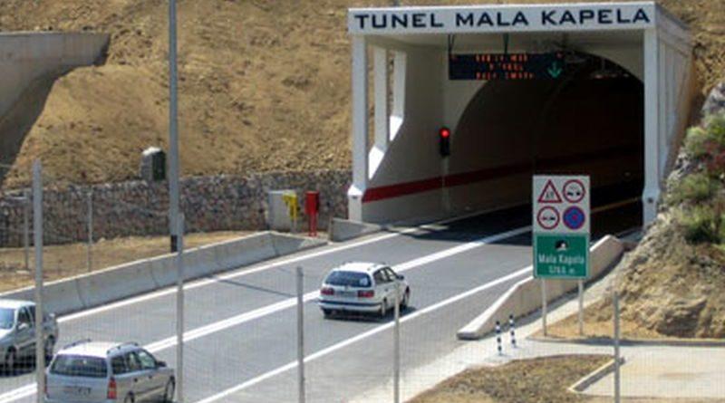 Tunel Mala kapela