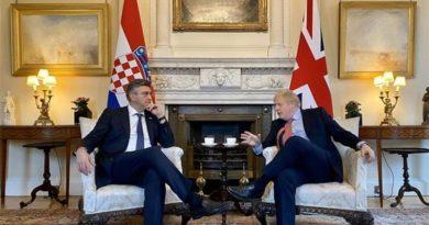 Plenković i Boris Johsnon žele jačati odnose: 'Sa zadovoljstvom je prihvatio moj poziv da posjeti Hrvatsku'