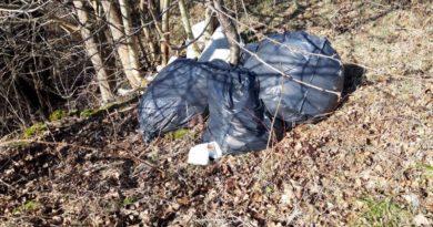 Otpad odbačen u prirodu