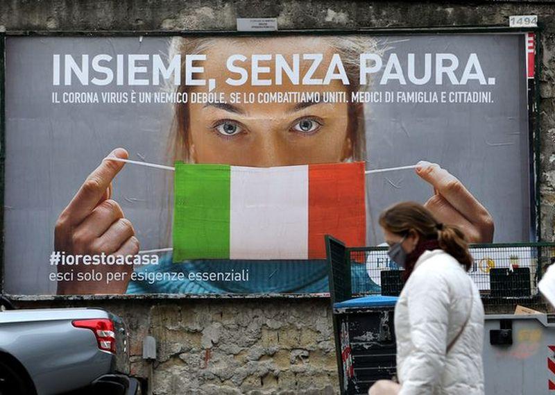 italija corona AFP