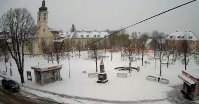 park tomislav snijeg ogulin ist