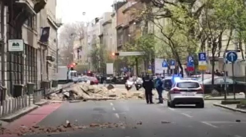 Potres U Zagrebu Dijete Teze Ozlijeđeno Og Portal