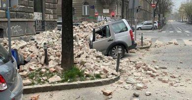 potres zg
