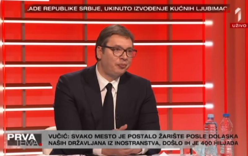 Vučić intervju ist