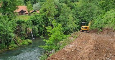 U gradu Slunju u tijeku radovi na novoj turističkoj infrastrukturi i obnovi kulturne baštine
