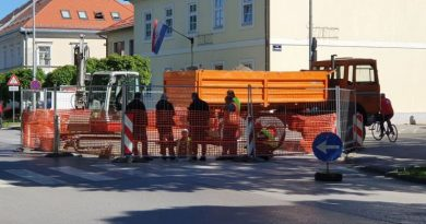 radovi vodovod u središtu grada