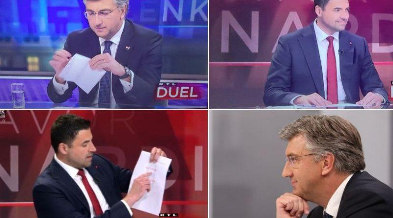 Duel Plenković Bernardić
