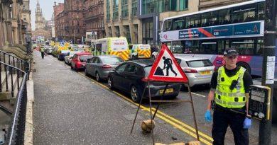 Glasgow napad pilicija ist