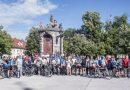 """Više od stotinu građana i djece odazvalo se na prvu """"pedalinu"""" biciklijadu nakon pandemije korona virusa"""