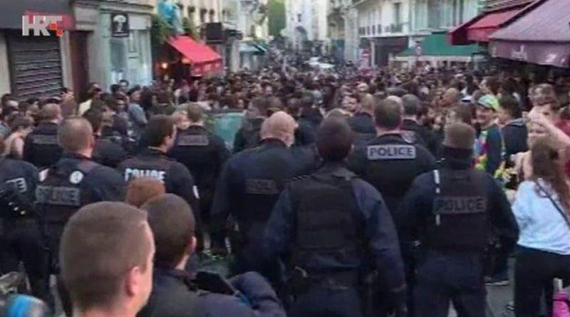 francuska policija prosvjed ist