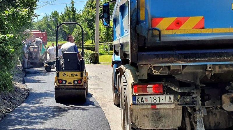 održavanje cesta radovi ist