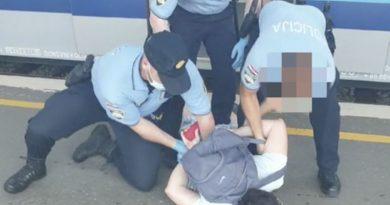 policaja intervencija nema maske ist